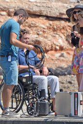 Emilia Clarke - On the Set of