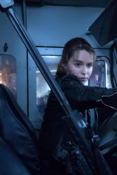 Emilia Clarke - Terminator Genisys Movie Photos