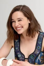 Emilia Clarke - Terminator Genisys Press Conference in Los Angeles