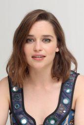 Emilia Clarke - Terminator Genisys Press Conference in Los Angeles