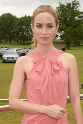 Emily Blunt - Audi Polo Challenge at Coworth Park, London - Day Two