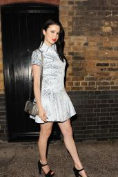 Emma Miller - Leaves The Chiltern Firehouse, June 2015