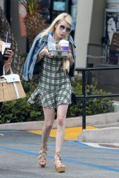 Emma Roberts - Out in LA, June 2015