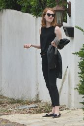 Emma Stone - Out in Beverly Hills, June 2015