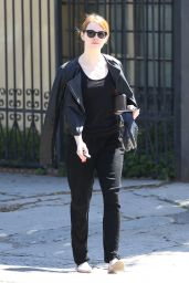 Emma Stone - Out in Los Angeles, June 2015