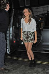 Emma Watson Night Out Style - Arrives at Chiltern Firehouse, London, June 2015