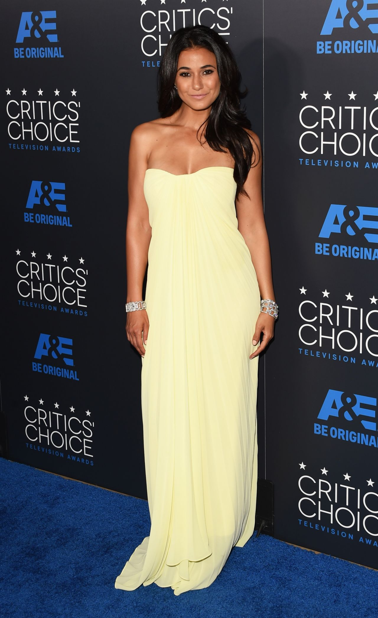 Emmanuelle Chriqui - 2015 Critics Choice Television Awards ...