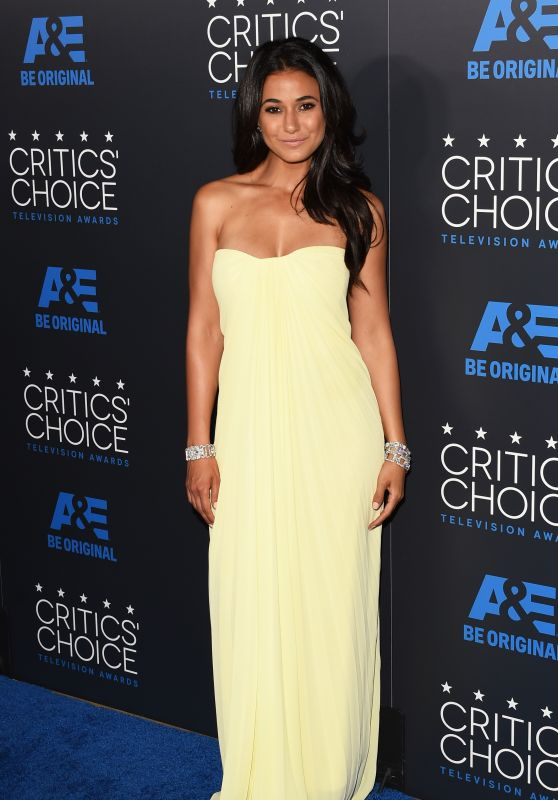 Emmanuelle Chriqui - 2015 Critics Choice Television Awards in Beverly Hills