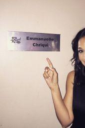 Emmanuelle Chriqui - at Jimmy Kimmel Live in Hollywood, June 2015