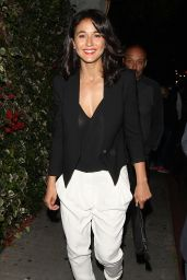 Emmanuelle Chriqui - Leaving the Chateau Marmont in West Hollywood, June 2015