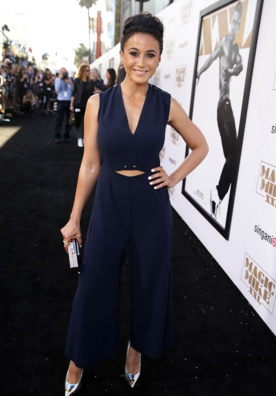 Emmanuelle Chriqui - Magic Mike XXL Premiere in Los Angeles