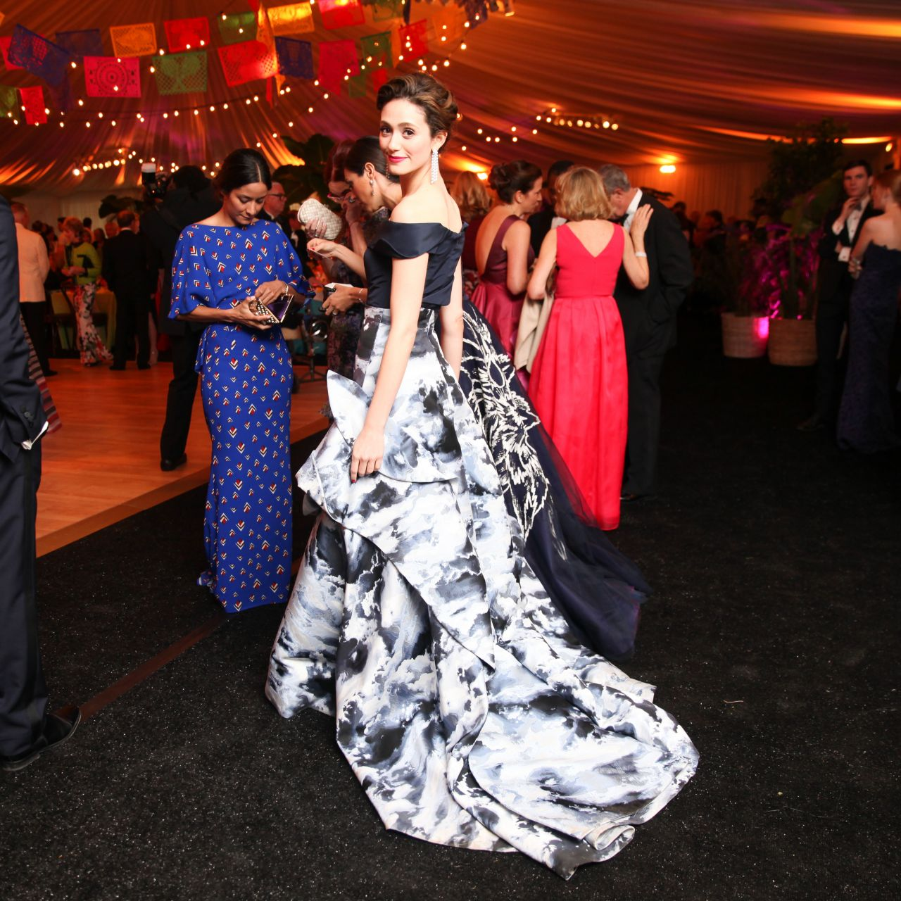 Emmy Rossum - The New York Botanical Garden Conservatory Ball - June 2015