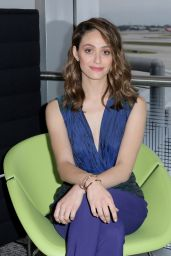 Emmy Rossum - The Opening Of The Centurion Lounge At Miami International Airport, June 2015
