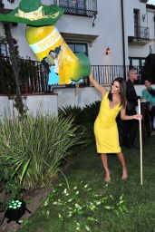 Eva Longoria – Launch Of Grapefruit Jalapeno At SVEDKA`S Summer Fiesta in Beverly Hills – June 2015