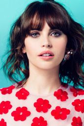 Felicity Jones - Glamour Magazine (UK) July 2015