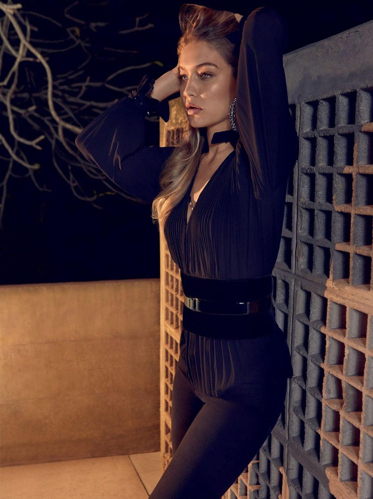 Gigi Hadid Photoshoot For Vogue Magazine Brazil July 2015
