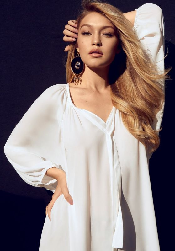 Gigi Hadid - Photoshoot for Vogue Magazine Brazil July 2015