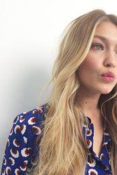 Gigi Hadid Photoshoot - Maybelline Canada June 2015
