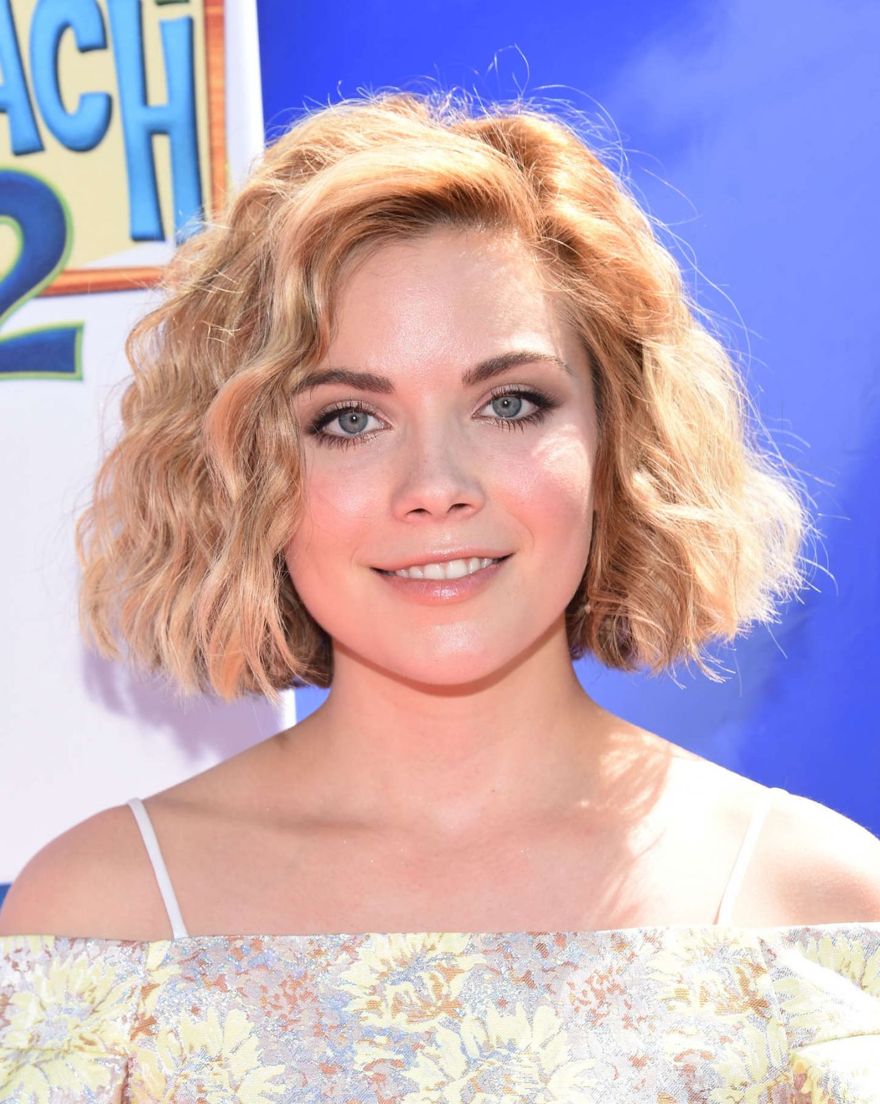Grace Phipps Teen Beach 2 Premiere In Burbank