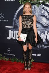 Greer Grammer - Jurassic World Premiere in Hollywood