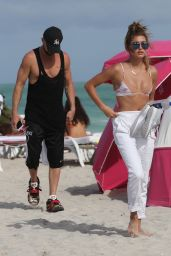 Hailey Baldwin in a Bikini in Miami Beach, June 2015