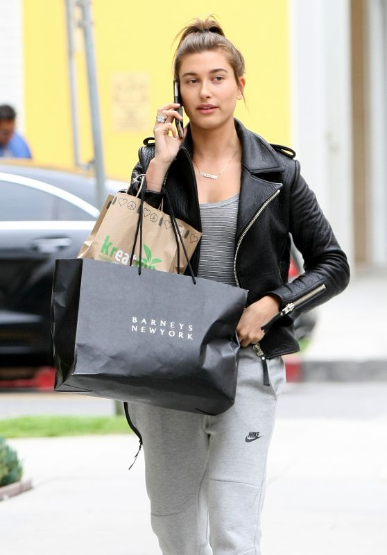 Hailey Baldwin - Out in Beverly Hills, June 2015