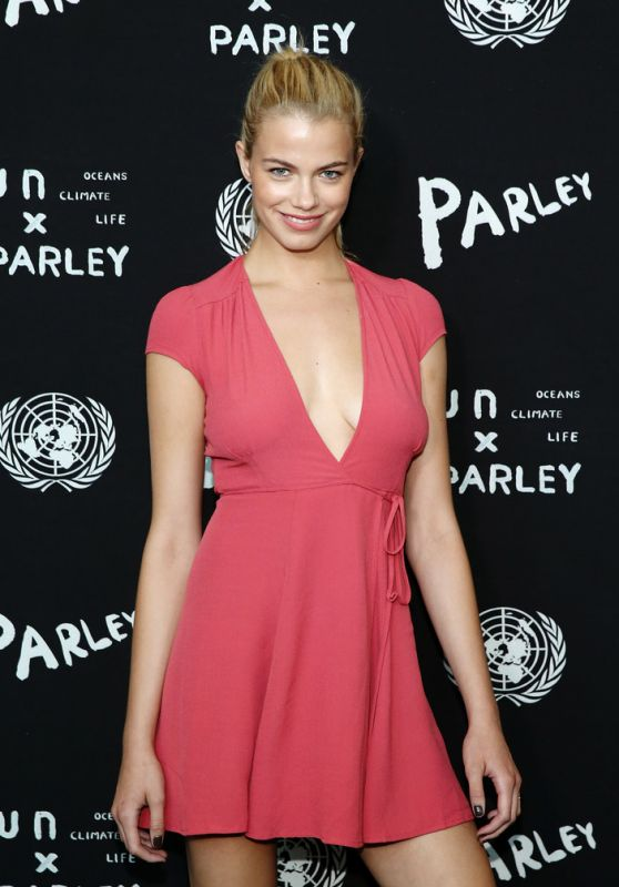 Hailey Clauson – United Nations x Parley For The Oceans Launch Event in NYC