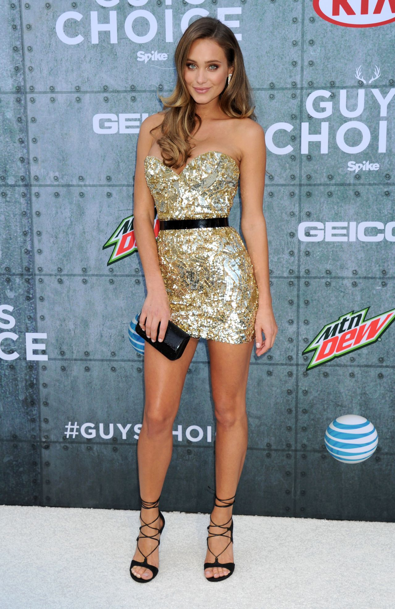 Hannah Davis Spike Tv S 2015 Guys Choice In Culver City