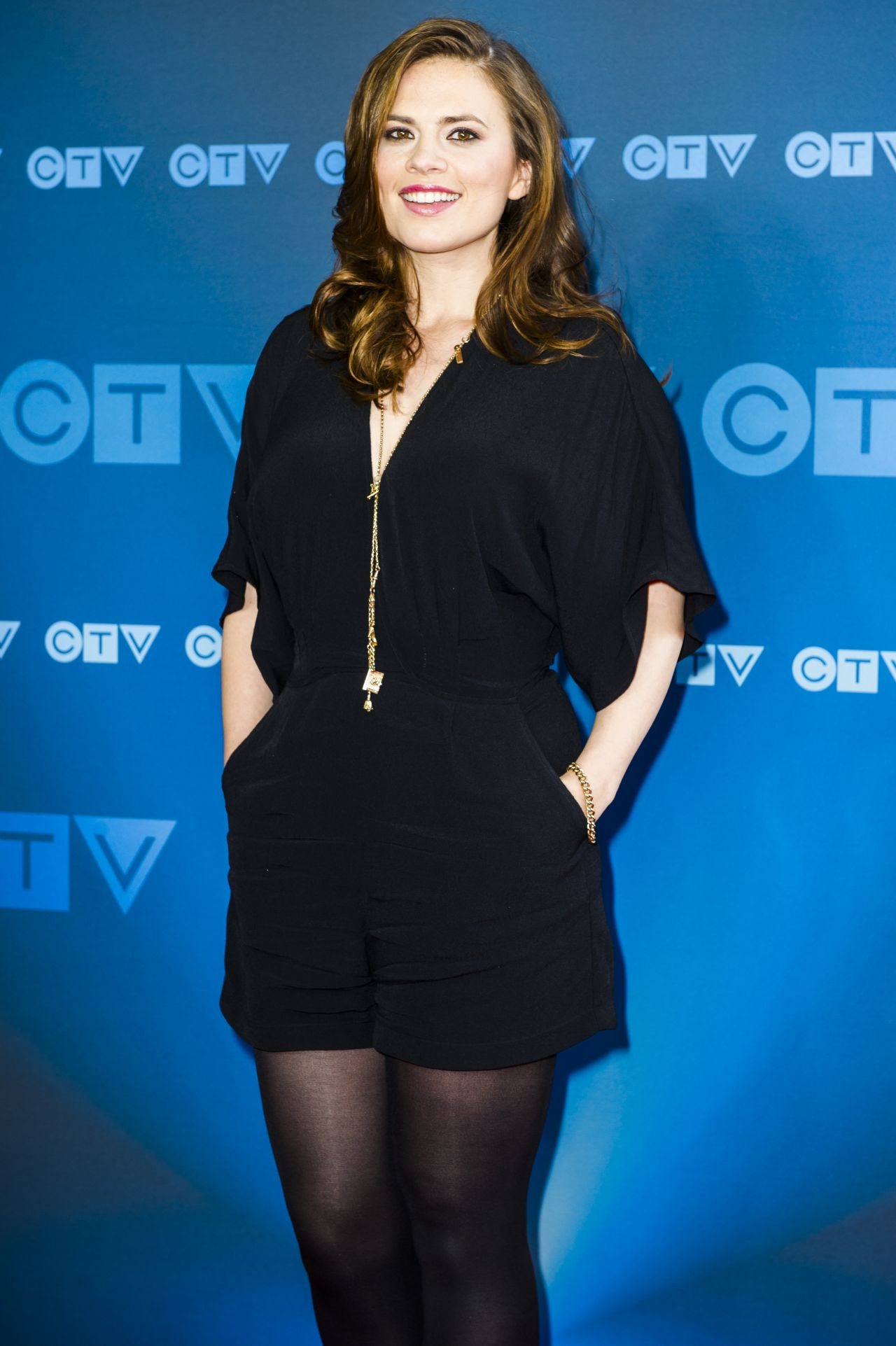 Hayley Atwell 2015 Ctv Upfronts In Toronto