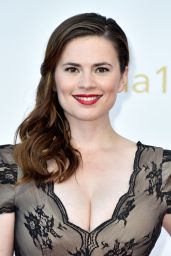 Hayley Atwell - Closing Ceremonies at 55th Monte Carlo TV Festival in Monaco