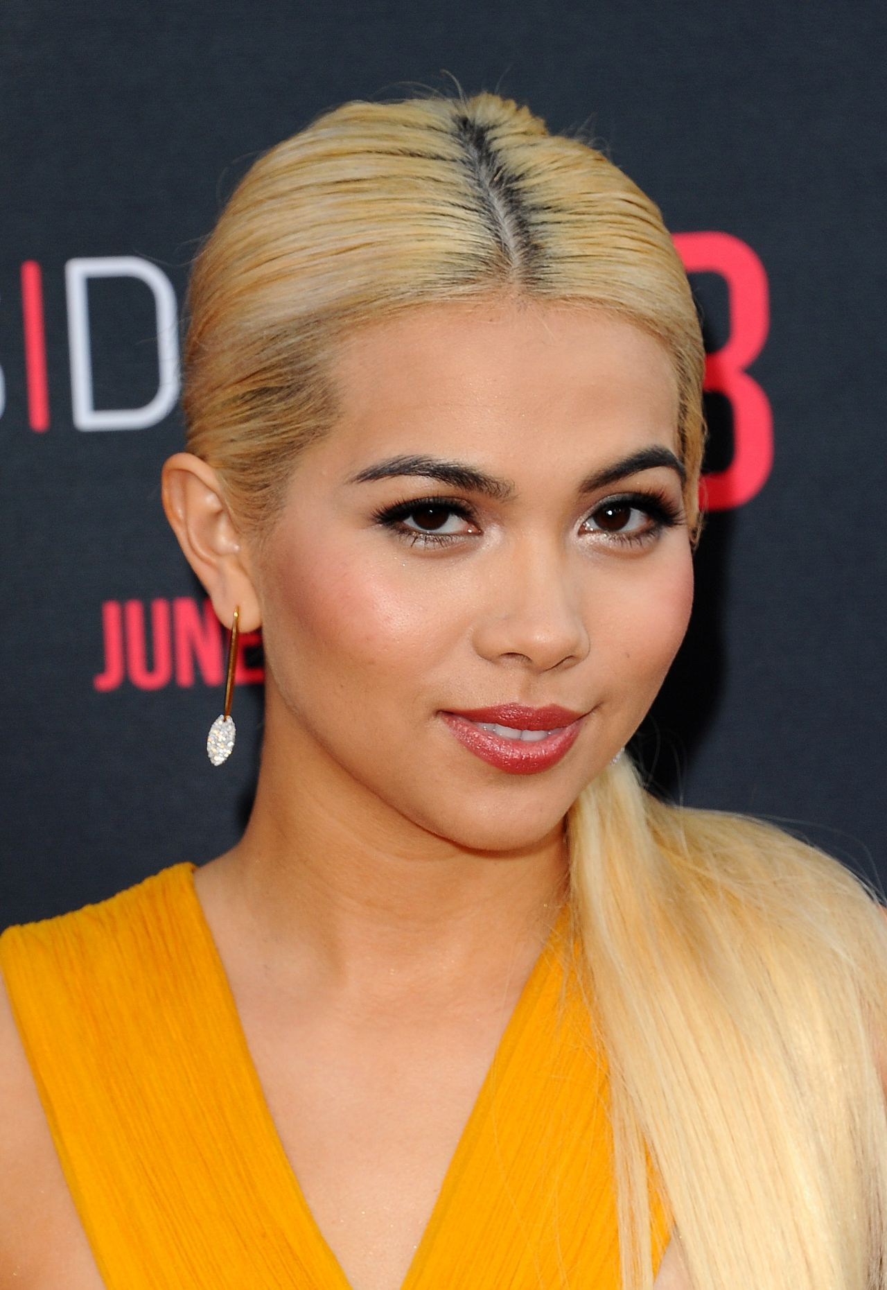 Hayley Kiyoko Insidious Chapter 3 Premiere At The Tcl