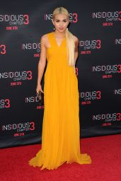 Hayley Kiyoko - Insidious: Chapter 3 Premiere at the TCL Chinese Theatre in Hollywood