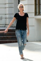 Heidi Klum Out in NYC, June 2015