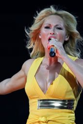 Helene Fischer Performs at Stadion Tour in Rostock, June 2015