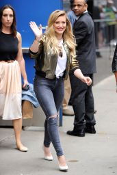 Hilary Duff at