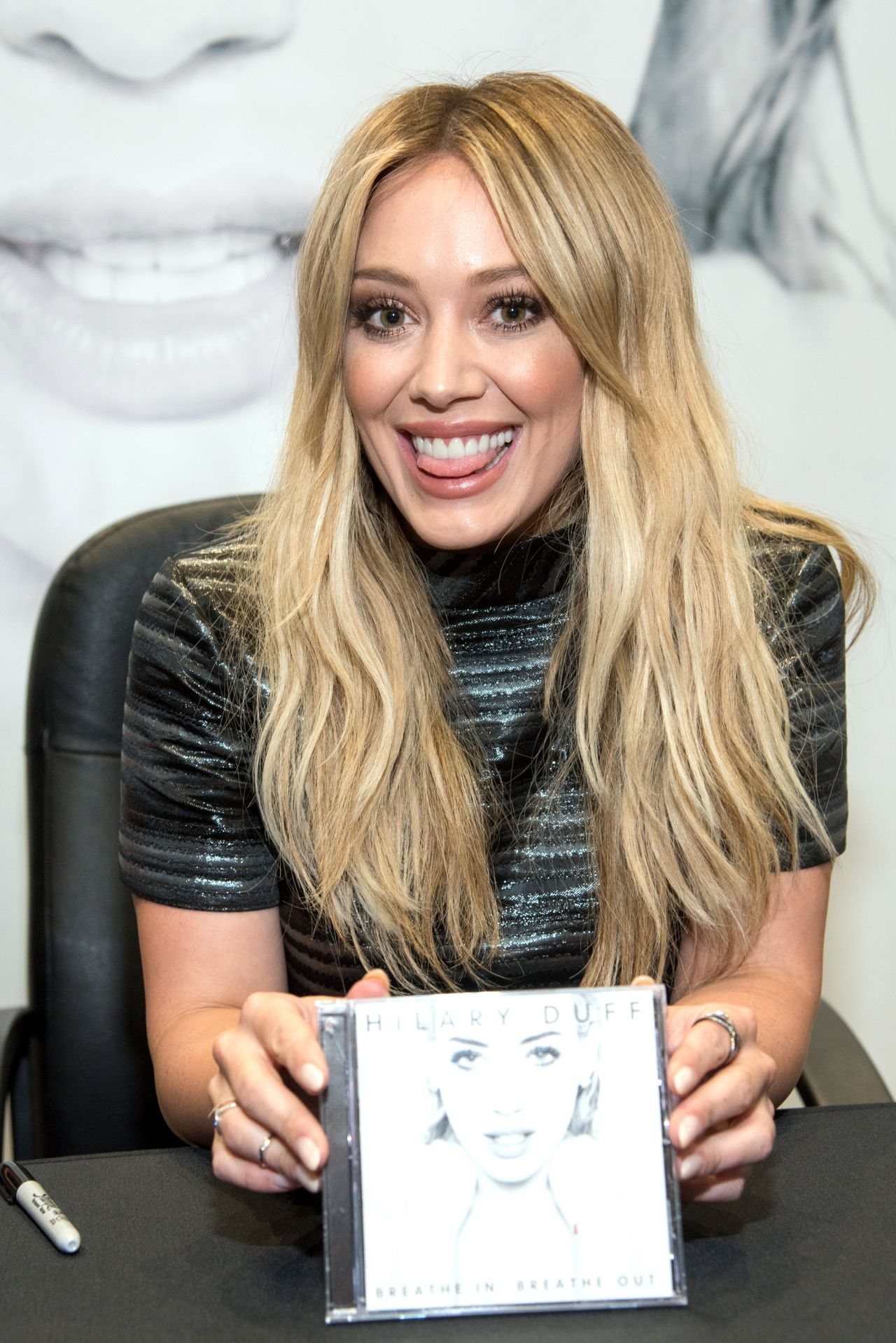 Hilary Duff - Breathe In, Breathe Out CD Signing Event in ... Hilary Duff