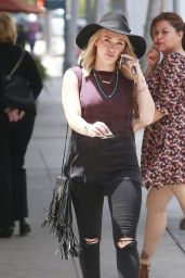 Hilary Duff Casual Style - Out in West Hollywood, June 2015