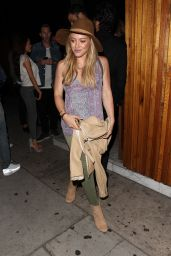 Hilary Duff Night Out Style - Leaving The Nice Guy in West Hollywood, June 2015