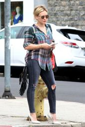Hilary Duff - Out in Los Angeles - June 2015