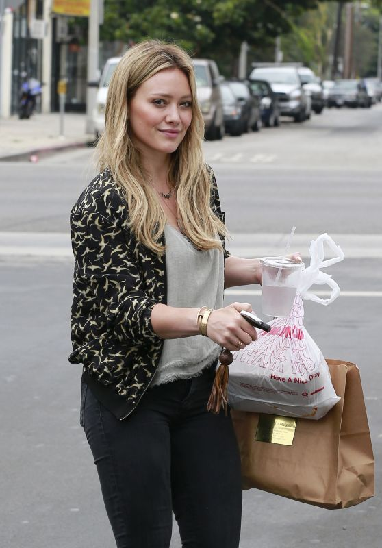 Hilary Duff - Out in West Hollywood, June 2015