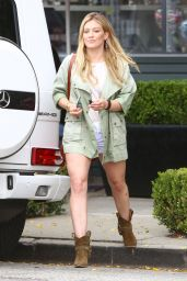 Hilary Duff Street Style - West Hollywood, June 2015