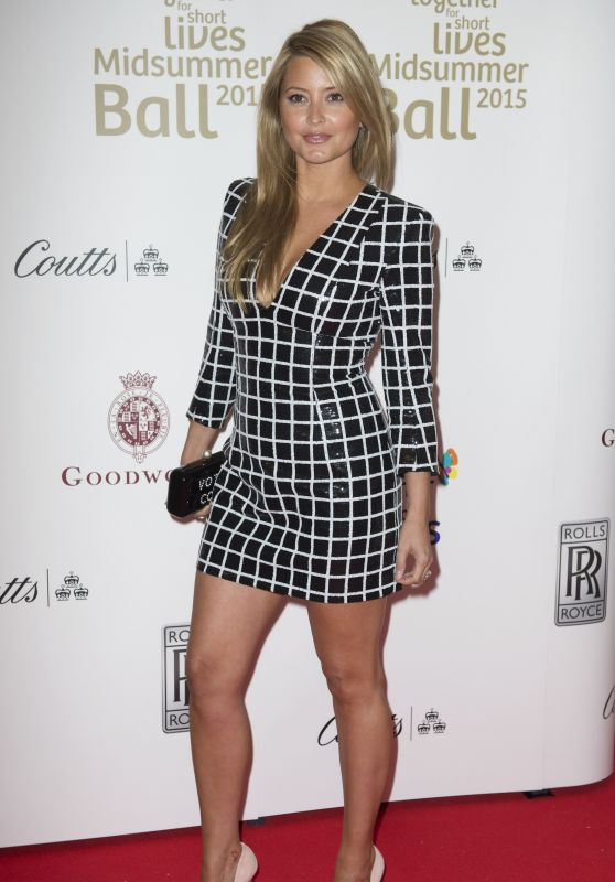 Holly Valance - Together for Short Lives Midsummer Ball in London, June 2015