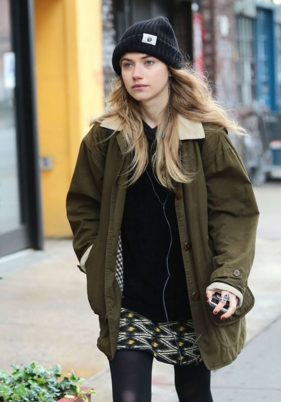 Imogen Poots - Out in New York City, June 2015