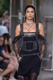Irina Shayk - Givenchy Fashion Show in Paris, June 2015