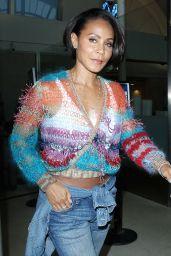 Jada Pinkett Smith - LAX  Airport in Los Angeles, June 2015