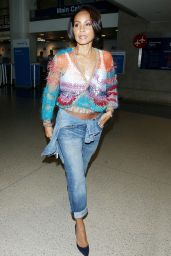Jada Pinkett Smith - LAX  Airport in Los Angeles, June 2015