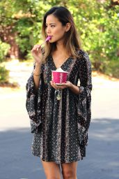 Jamie Chung Summer Style - Out in Los Angeles, June 2015