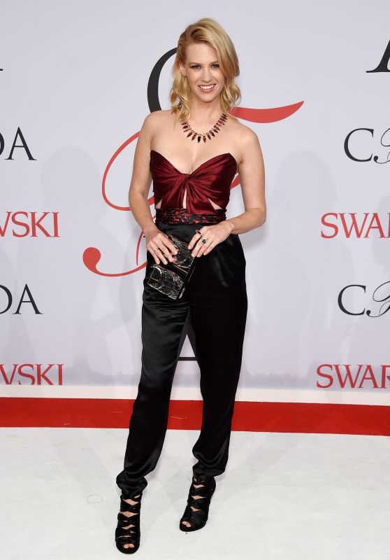 January Jones – 2015 CFDA Fashion Awards in New York City