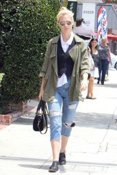 January Jones Out in Encino, June 2015