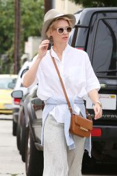 January Jones - Out in Santa Monica, June 2015